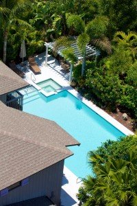Joe Angelo - BH Pool Aerial View