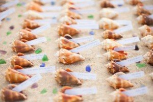 beach wedding table assignments
